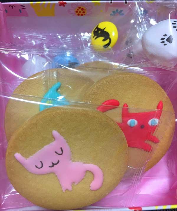 東京駅 アンファン 猫だらけ 猫のアイシングクッキー